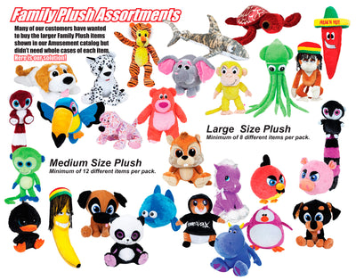 "14""-24"" 24pc Plush Family Pack"