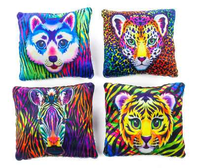 "6"" Wild Animal Pillows"