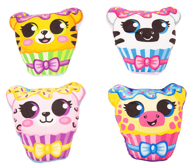 "6"" Cupcake Animals (2 Sided)"