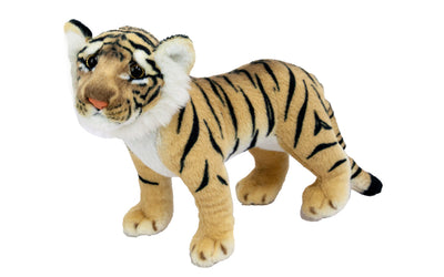 "10"" Baby Standing Brown Tiger"