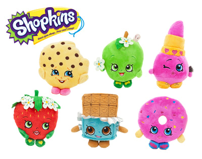 "6.5"" Shopkins Plush Asst."