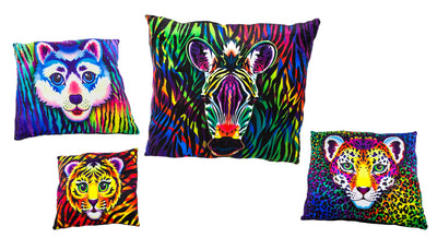 "13"" Wild Animal Pillows"