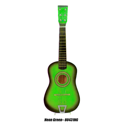 "23"" Acoustic Guitar - Neon Green"