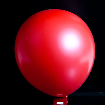 "12""  Balloons - Metallic Red"