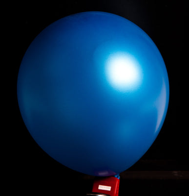"12""  Balloons - Metallic Blue"