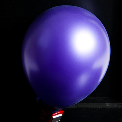 "12""  Balloons - Metallic Purple"