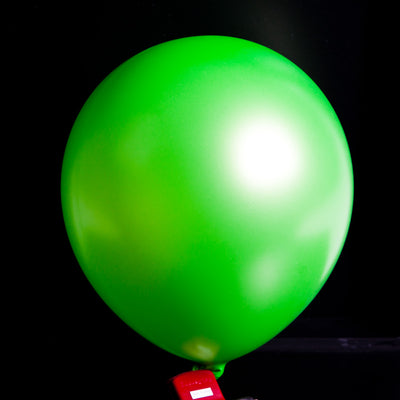 "12""  Balloons - Metallic Lime Green"