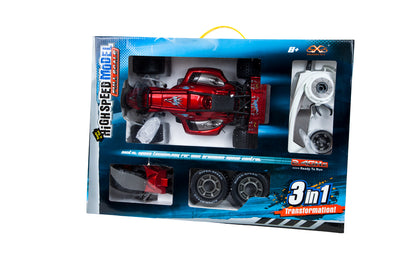 "14"" High Speed Racing Car 3 in 1"