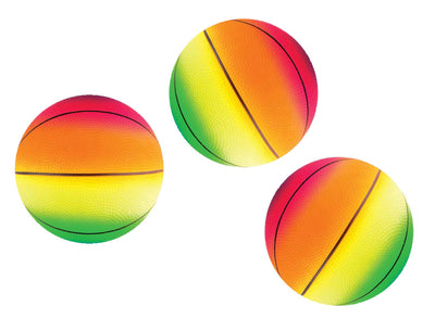 "8.5"" Rainbow Basketball"
