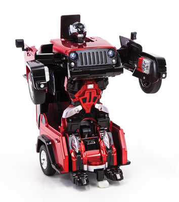 "11"" Sports Car Robot - Red"