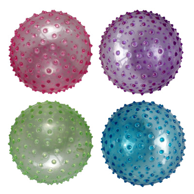 "8"" Transparent Knobby Ball"