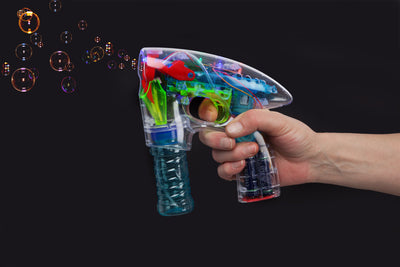 "7"" LED Bubble Gun"