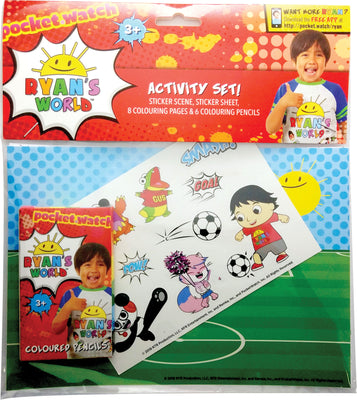 Ryan's World Activity Set 9.5""