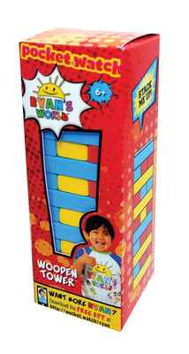 Ryan's World Wooden Tower