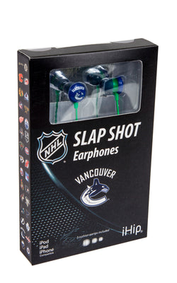 Ear Buds - Vancouver Canucks *Closeout Special*