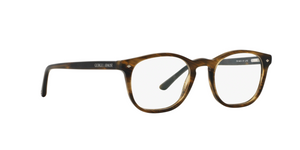 Giorgio Armani AR7074 5405 STRIPED MATTE DARK BROWN Size 50