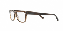 Giorgio Armani AR7131 5594 STRIPED BROWN Size 55