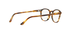 Giorgio Armani AR7136 5590 STRIPED BROWN Size 51
