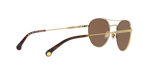 Brooks Brothers BB4048 152873 BRUSHED GOLD/TORTOISE FOIL Size 52