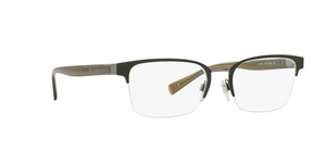 Burberry BE1308 1222 GUNMETAL/MATTE GREEN Size 54