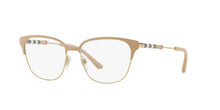 Burberry BE1313Q 1236 BEIGE/LIGHT GOLD Size 53