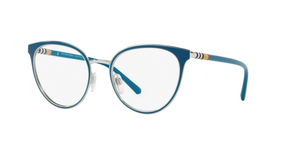 Burberry BE1324 1264 TURQUOISE/SILVER Size 52