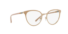 Burberry BE1324 1266 BEIGE/LIGHT GOLD Size 52