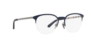 Burberry BE1327 1274 GUNMETAL/MATTE BLUE Size 53