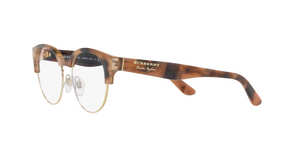 Burberry BE2261 3641 SPOTTED BROWN/LIGHT GOLD Size 50