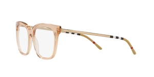 Burberry BE2271F 3358 TRANSPARENT BROWN Size 54