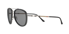Burberry BE3090Q 1003T8 GUNMETAL/MATTE BLACK Size 58