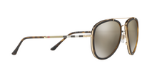 Burberry BE3090Q 10525A BRUSHED GOLD/MT DARK HAVANA Size 58