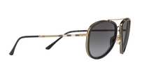 Burberry BE3090Q 1167T3 BRUSHED LIGHT GOLD/BLACK Size 58