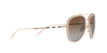 Burberry BE3090Q 1246T5 BRUSHED GOLD/PINK Size 58