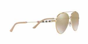 Burberry BE3092QF 11456E LIGHT GOLD Size 60