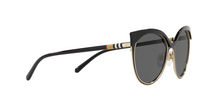 Burberry BE3096 126287 BLACK/LIGHT GOLD Size 55