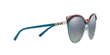 Burberry BE3096 12641G TURQUOISE/SILVER Size 55
