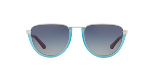 Burberry BE3098 10054L SILVER/MATTE AZURE Size 54