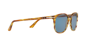 Persol PO3007S 105056 STRIPED BROWN YELLOW Size 53