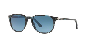 Persol PO3019S 1062Q8 SPOTTED BLUE DARK GREY Size 55