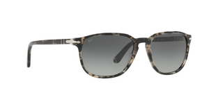 Persol PO3019S 106371 SPOTTED GREY BLACK Size 55