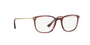 Persol PO3146V 1054 STRIPED CHERRY Size 51