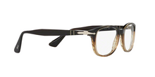 Persol PO3163V 1026 BROWN/STRIPPED BROWN Size 54
