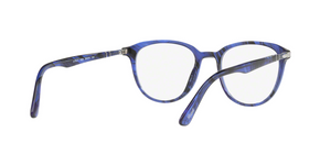 Persol PO3176V 1053 BLUE STRIPED Size 50