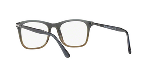 Persol PO3188V 1012 GRADIENT GREY STRIPPED GREEN Size 51