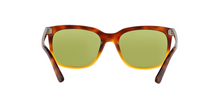 Prada PR 12RS JOURNAL TKU4K2 LIGHT HAVANA GRADIENT YELLOW Size 56