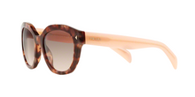 Prada PR 12SS UE04K0 SPOTTED BROWN PINK Size 53