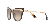 Prada PR 12US CATWALK KJM3D0 SAND PALE GOLD/BROWN Size 65