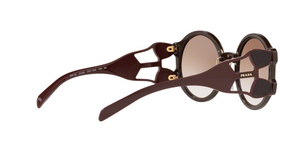 Prada PR 13US CATWALK DHO0A6 BROWN Size 54