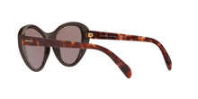 Prada PR 14US CATWALK YEO6X1 BROWN Size 55